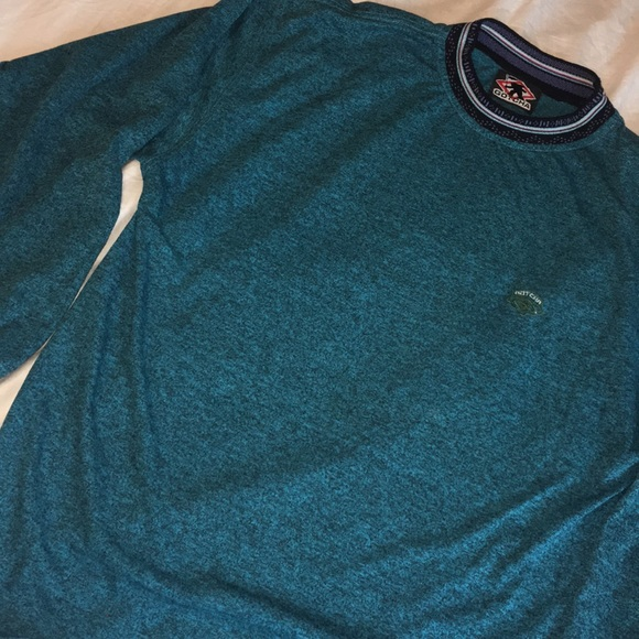 Clothing, Shoes & Accessories Excellent Condition Mens Gotcha Teal Sweatshirt Size Medium Men's Clothing